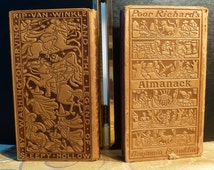 Early 1900's Benjamin Franklin - Washington Irving - Poor Richard's Almanack - Rip Van Winkle - Legend of Sleepy Hollow - Reproductions