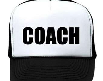 COACH FOOTBALL BASEBALL cap hat trucker
