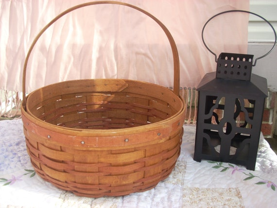 Longaberger Easter Basket Longaberger Vintage Basket
