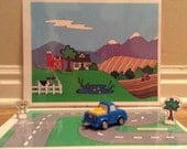 The Country section of a car play set.