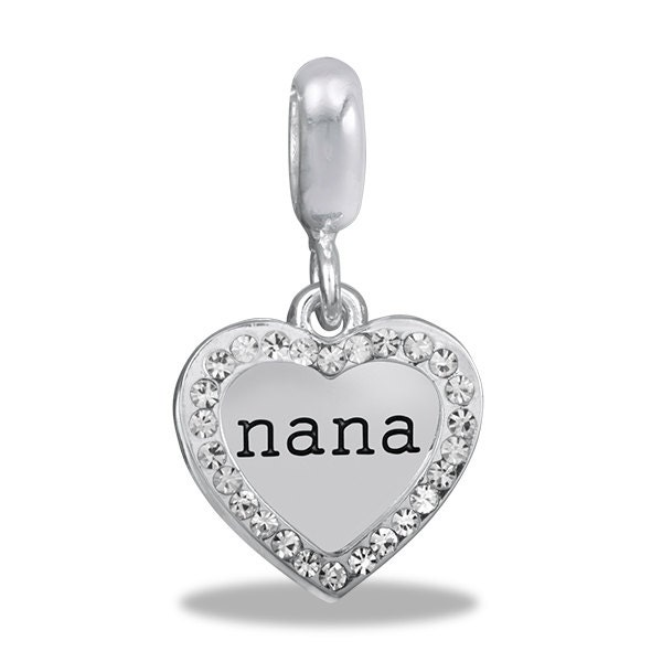 nana pendant with overlay dangle for charm