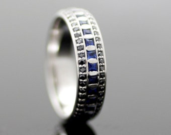 Eternal Night - Sapphire in 14k