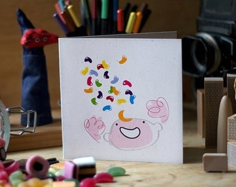 Greeting Card 'Jellybean'