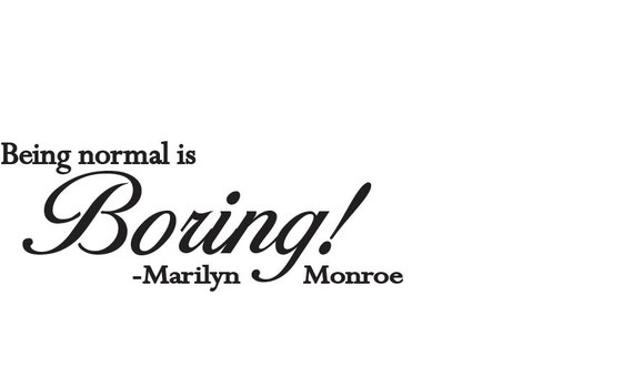 Quotes On Being Boring: Unavailable Listing On Etsy