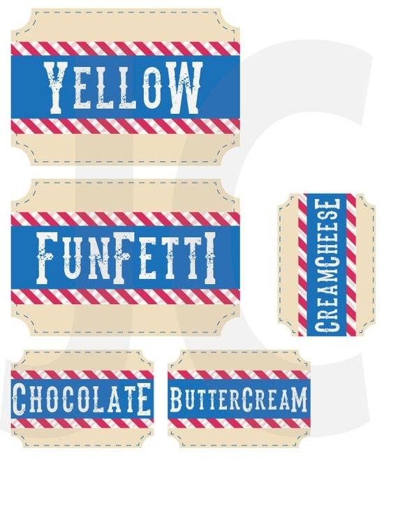 Custom made Cupcake Bar - Country Style (digital copy)