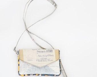 Recycled Handbag -Letter