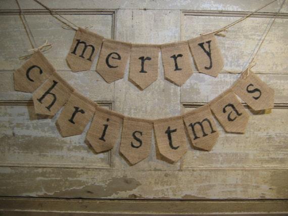 Il 570xN542954229 M4qq Merry Christmas Burlap Garland B05531899265978ab65b85cda7c88529