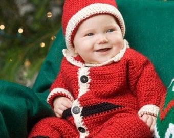 Baby Santa Suit & Hat