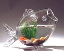 Articles populaires correspondant fish aquarium sur etsy for Bocal mural poisson
