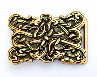 Viking style buckle with dragon motif - [09 Buck 3 SW:]