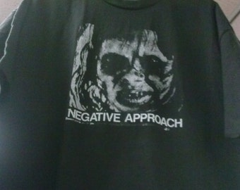Negative Approach Exorcist Tshirt