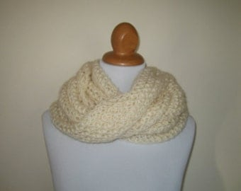 Ecru Holed Scarf