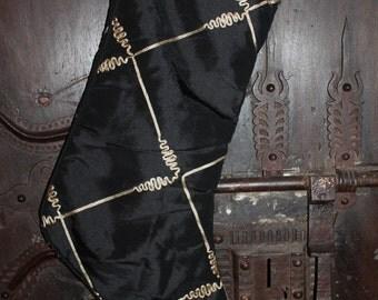 Faux Silk Taffeta Stocking - Soundwave