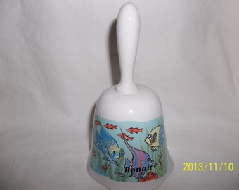 Bonaire - Caribbean Islands - Ceramic Bell