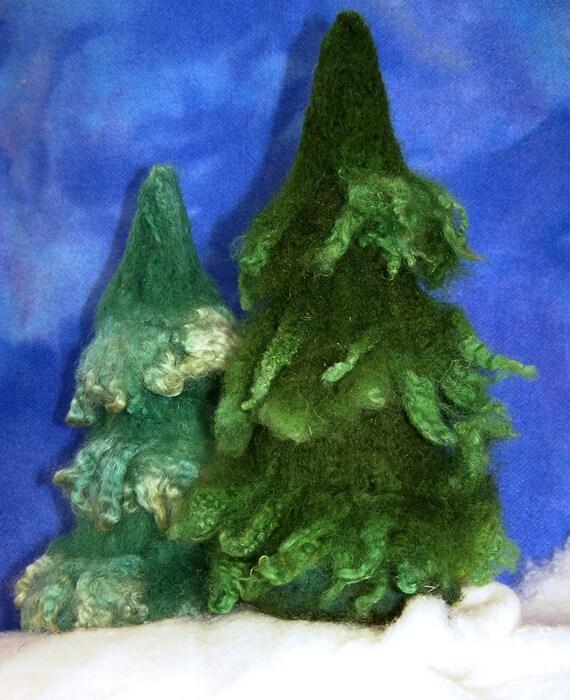 Kit: Needle Felted Pine Tree