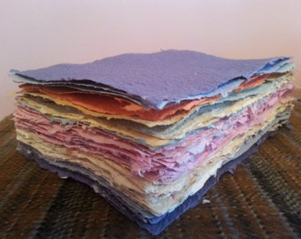 Handmade Artisan Paper: Fifty-five Made to Order