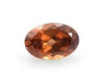 Brown Zircon Loose Gemstone Oval Cut 1A Quality 6x4mm TGW 0.60 cts.