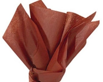 CINNAMON Tissue Paper 24 Sheets Premium Tissue Paper for Craft Projects, Gift Wrapping, and DIY