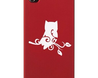 Owl Decal- Wall Decal, Cell Decal, Laptop Decal