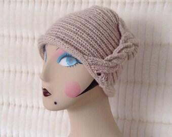 Handmade, Flapper Style, Vintage Look Hat