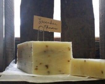 Handmade Lavender Soap Bar