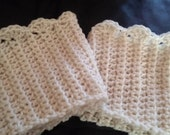 Womens Boot Socks Crochet Boot Cuffs for Womens Leg warmers, Crochet Boot Topper