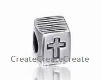 Authentic European Big Hole Sterling Silver 925 ~ Bible ~ Charm fits most all European Bracelets and Necklaces