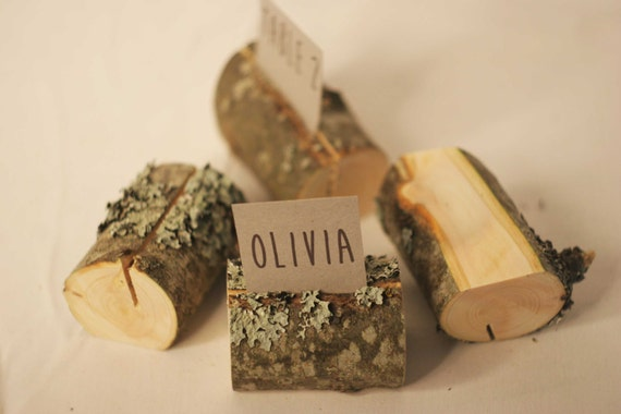 12 pieces rustic place card holders wedding place card holders wooden name card holders party name card holders