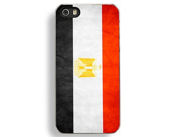 Flag of Egypt iPhone 5/5S Case - iPhone 4/4S Case - iPhone 5C Cases - Egyptian Flag