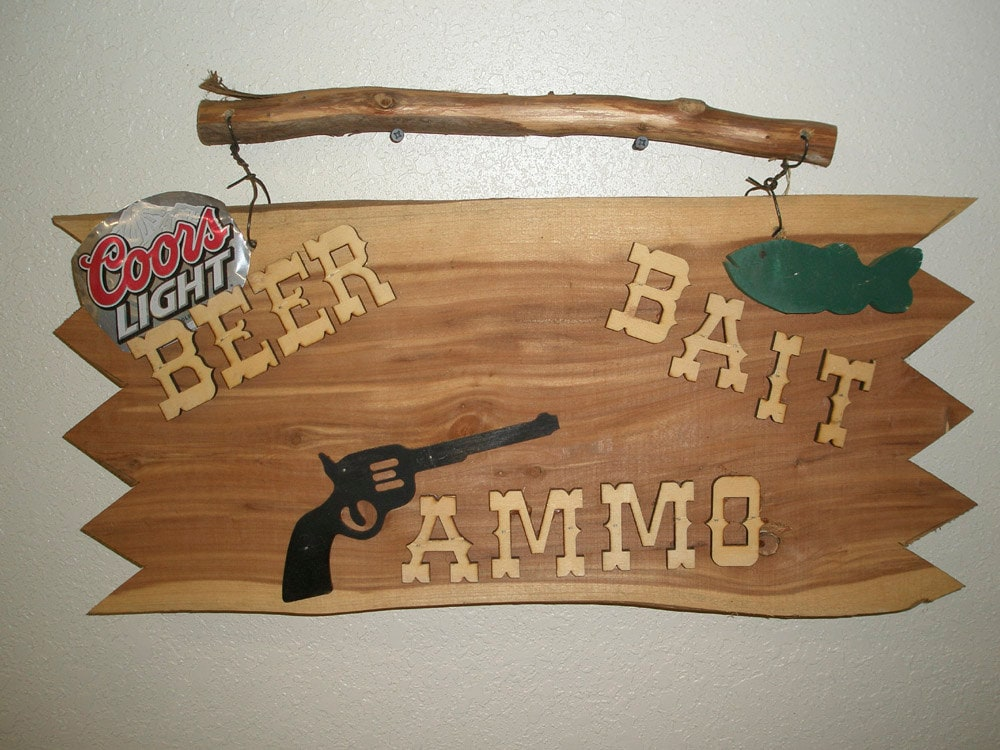 Image result for beer bait ammo shop signs pictures