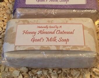 Oatmeal Goat's Milk Soap
