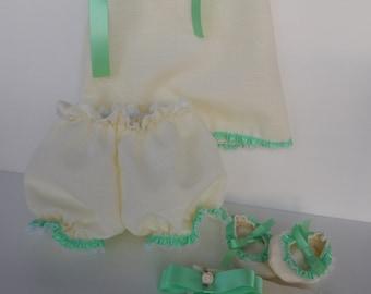 BABY DRESS SET