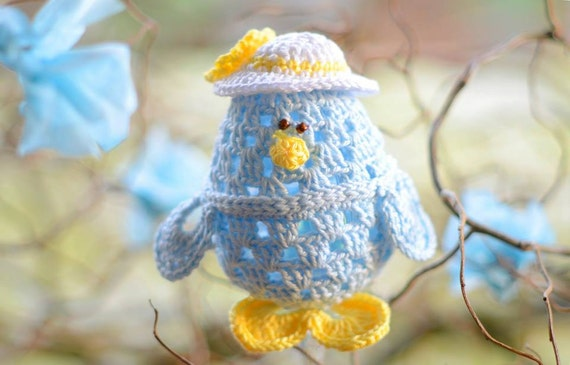 Little Chick Easter Egg Crochet Pattern