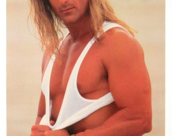 FABIO LANZONI POSTER From 1992, Male Model Vintage And Rare!!