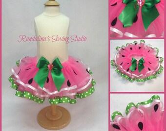 Yummy! Yummy! Watermelon tutu