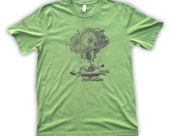 Airship Gents Steampunk T-shirt