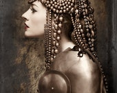 Bronze Headpiece - Beaded Headdress - BoringSidney