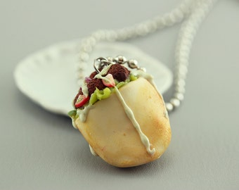 Falafel Necklace