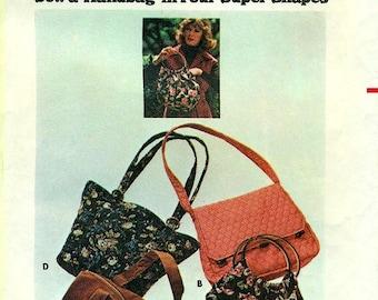 Butterick 4520 - 4 Handbags circa 1970s