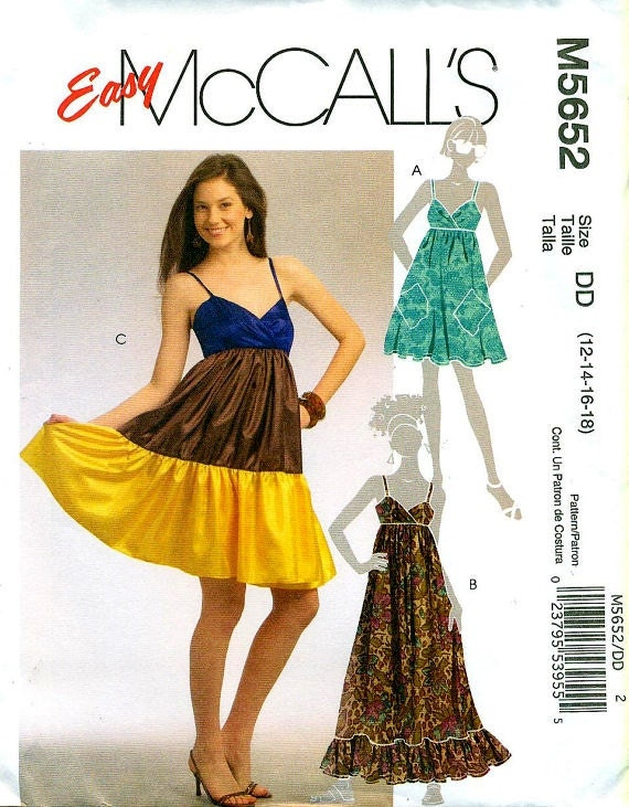 McCall's 5652 Contemporary Swinging Sundress
