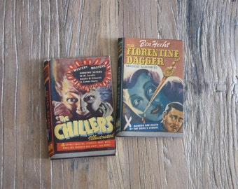 2 1940s Quick Reader Books # 104 & 107 with Illustrations