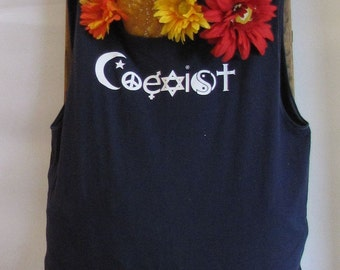 Reusable Market/Tote Bag   COEXIST  by Fashion Green T Bags