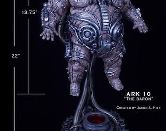 """DUNE inspired Baron Harkonnen"""" UNPAINTED Garage Kit"""