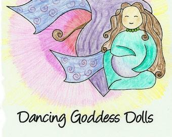 Dancing Goddess Coloring Book - PDF Download