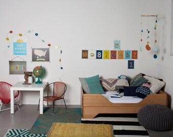 Vintage Baby DIY Room Decor Kit