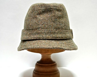 Men's Wool Hat  - Irish Walking Hat - Choose Your Own Wool