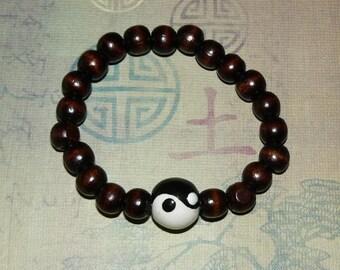 Buddha/Yin Yang 21Count Mala (Bracelet)