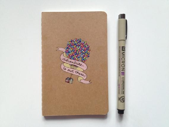 Disney Pixar UP Moleskine Pocket Notebook