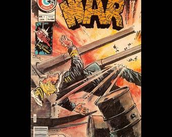 War Vol. 2 No. 4 - Charlton Comic Book c. January 1976