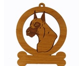 Great Dane Ornament 083293 Personalized With Your Dog's Name